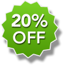 20% OFF Subscription Discount